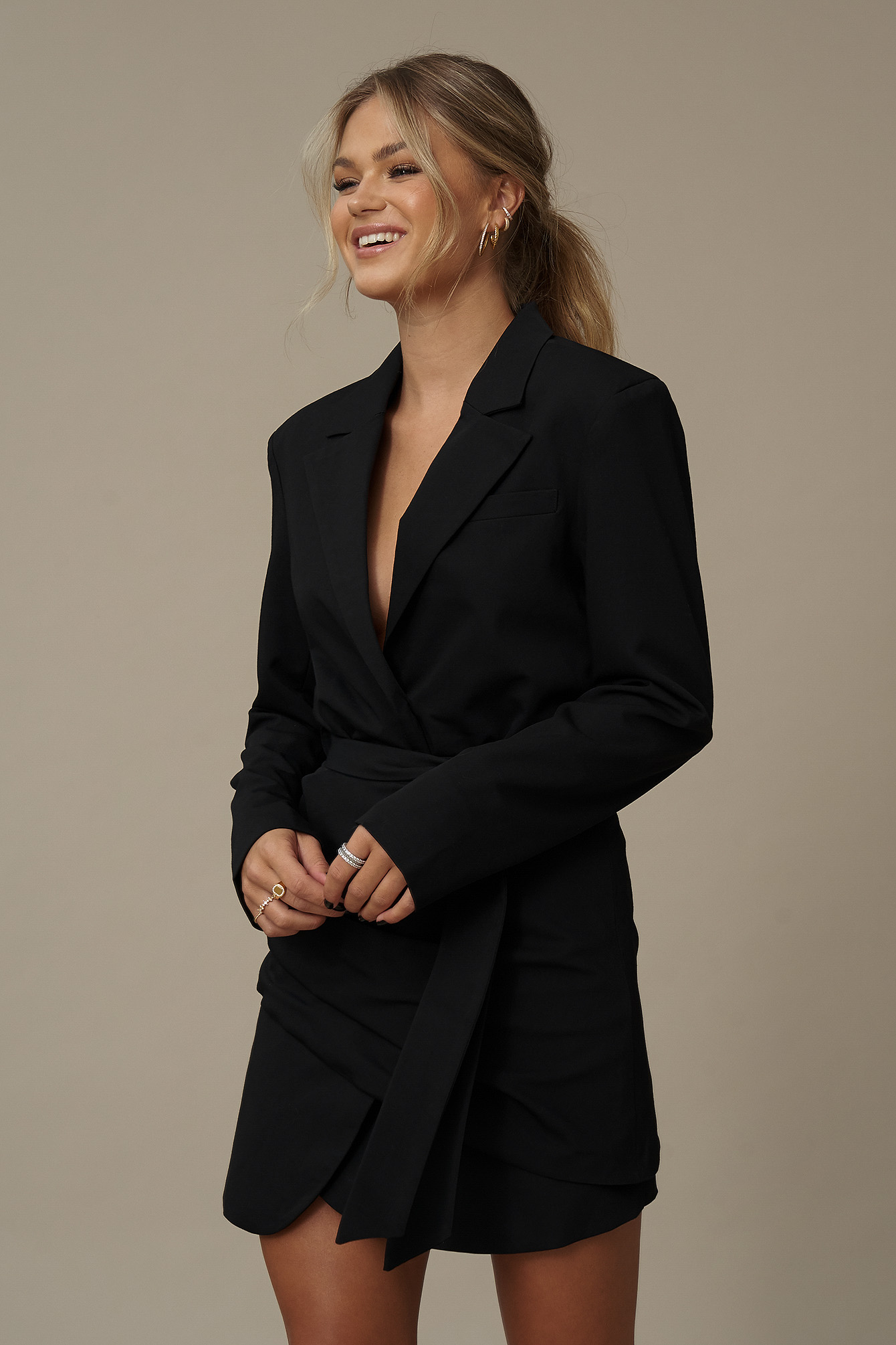 Black Robe Blazer