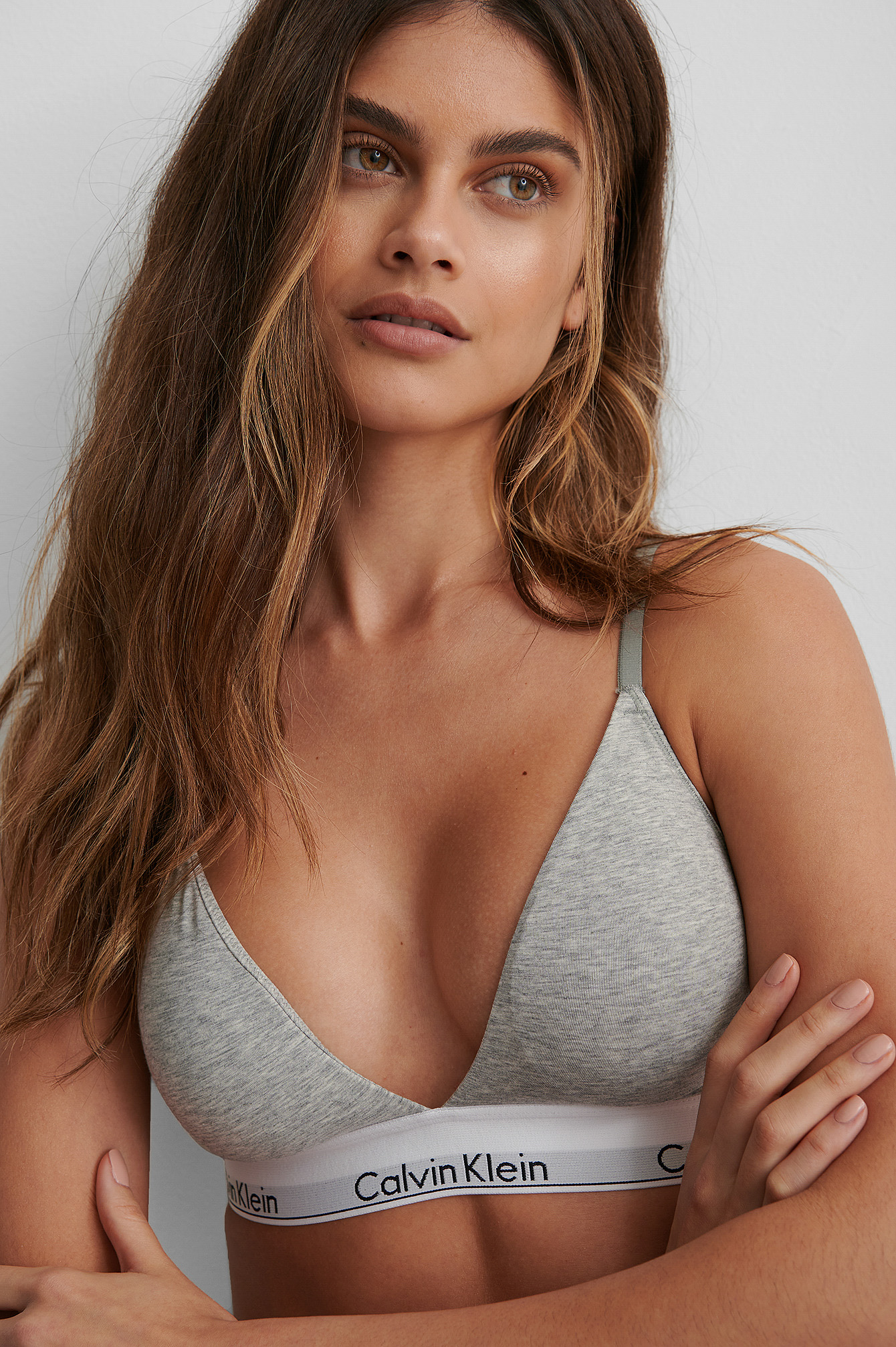 Grey Heather Soutien-Gorge Triangle Modern Cotton