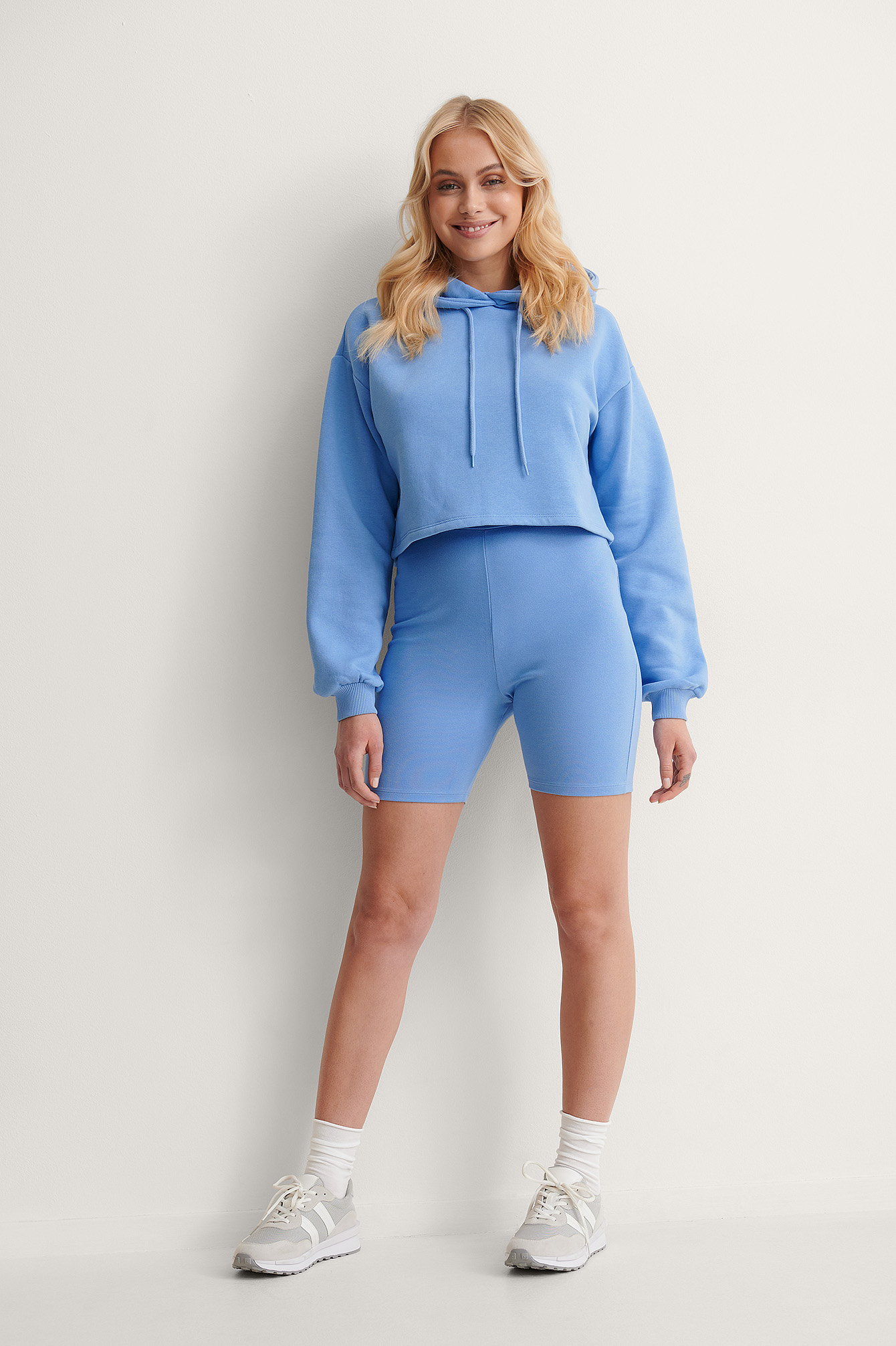 Blue Short De Cycliste