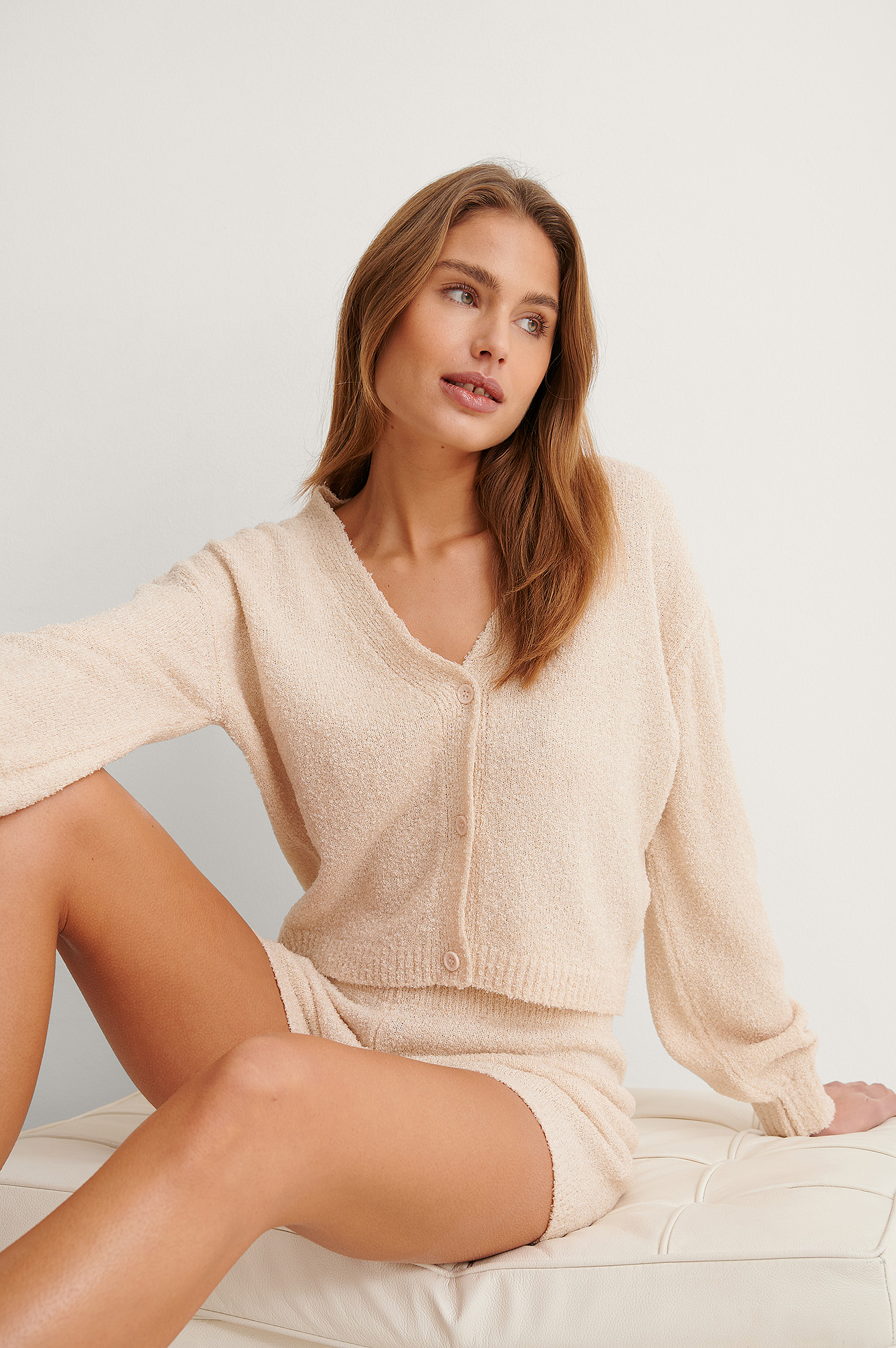 Light Beige Cardigan Tricot