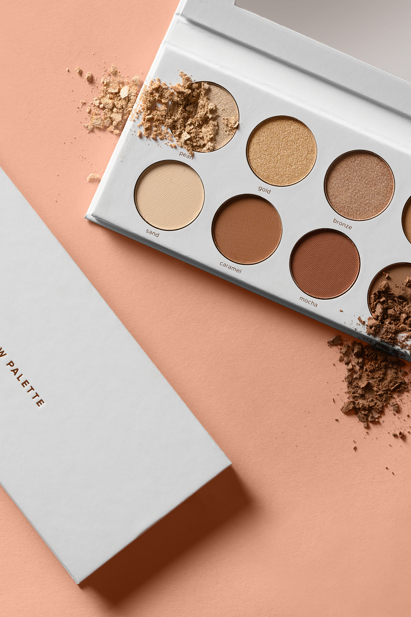 Multi color Bronze Eyeshadow Palette