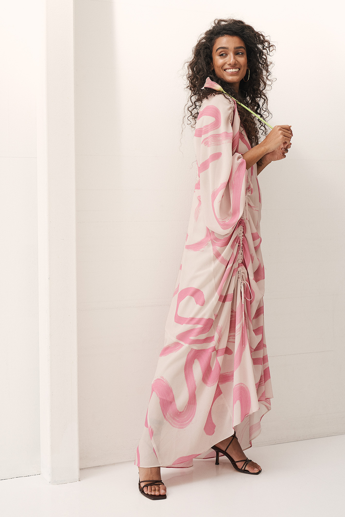 Pink Robe Mousseline