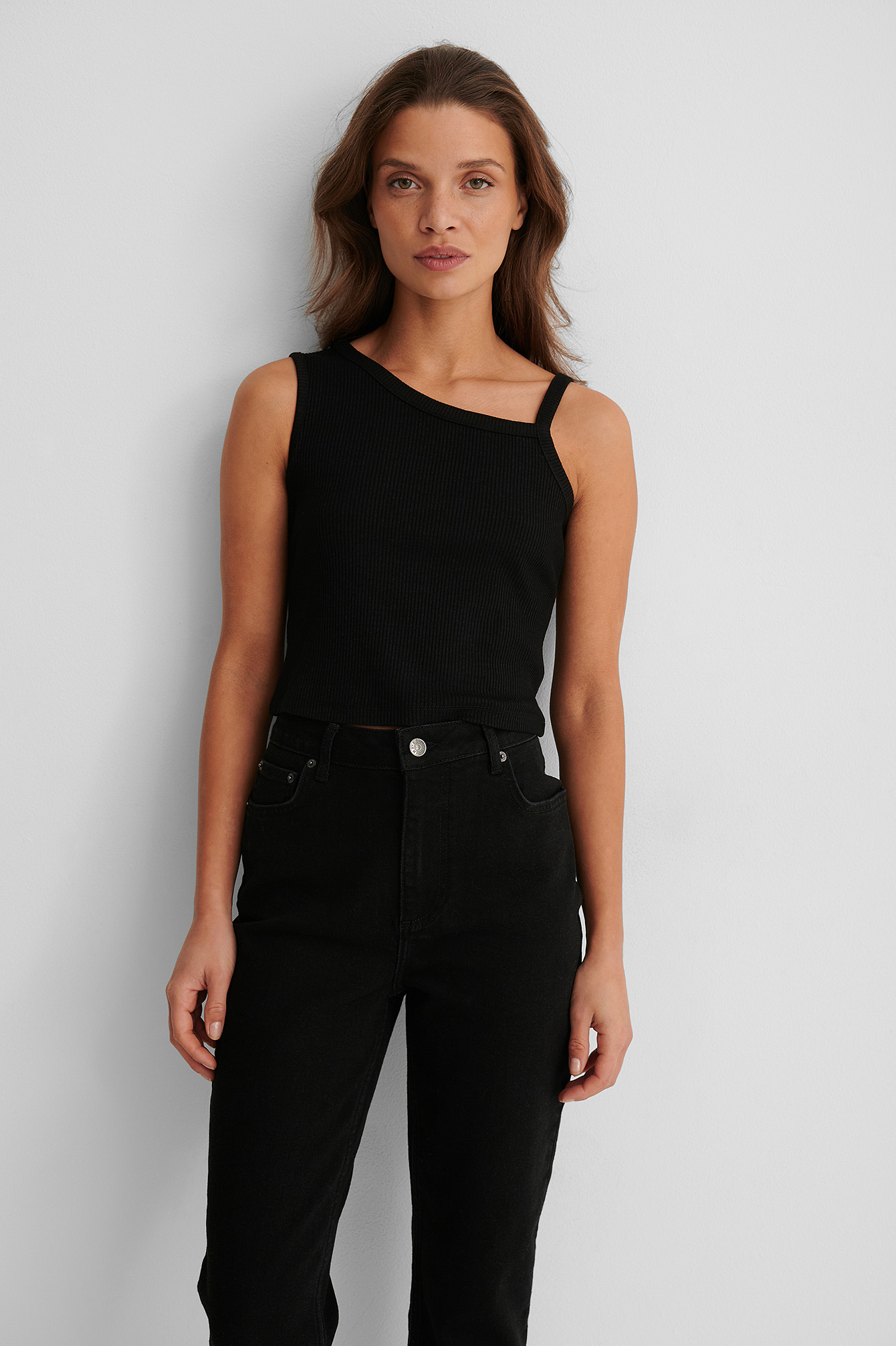 Black Top Asymétrique