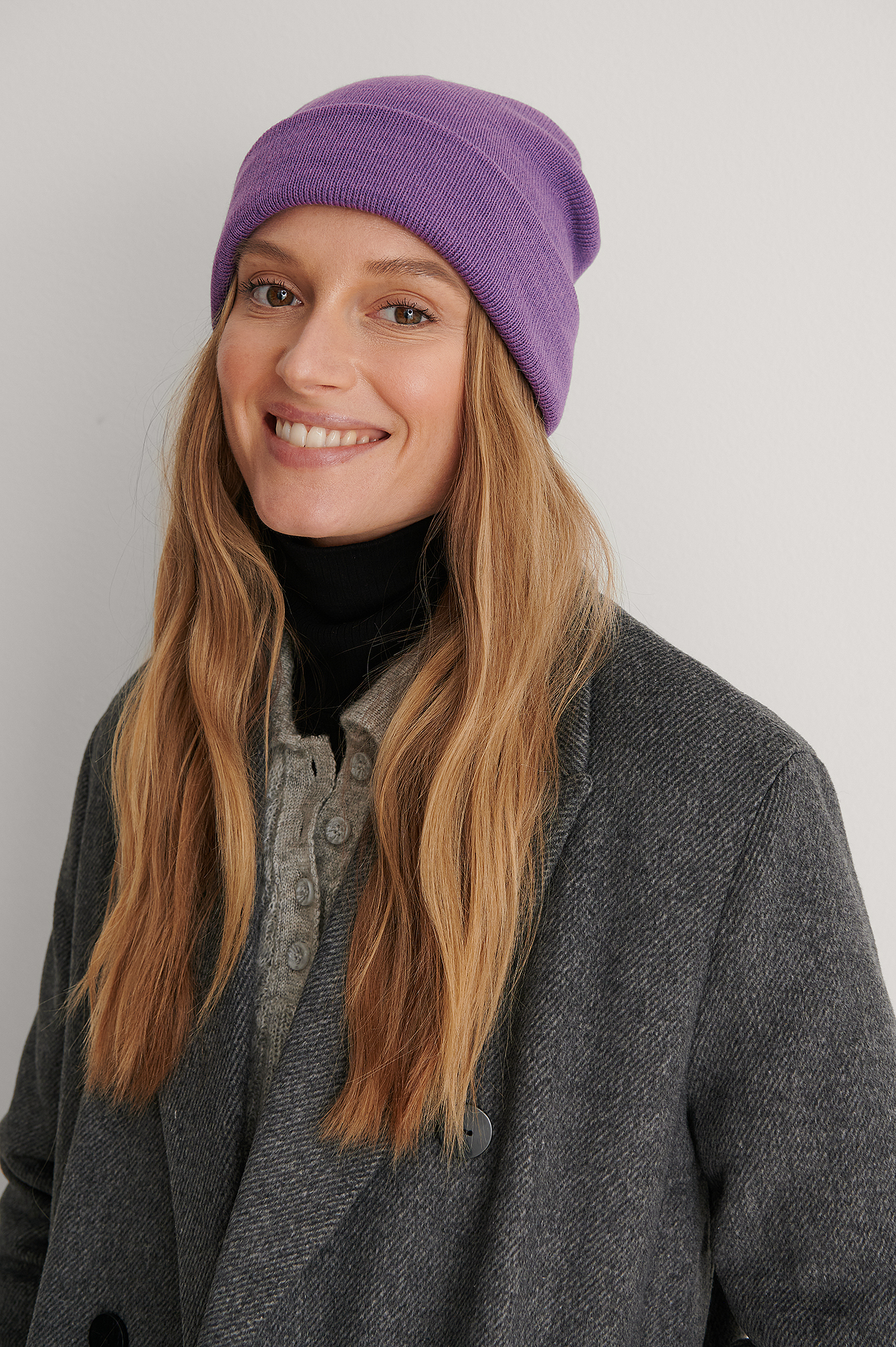 Strong Purple Recyclé Bonnet Basique