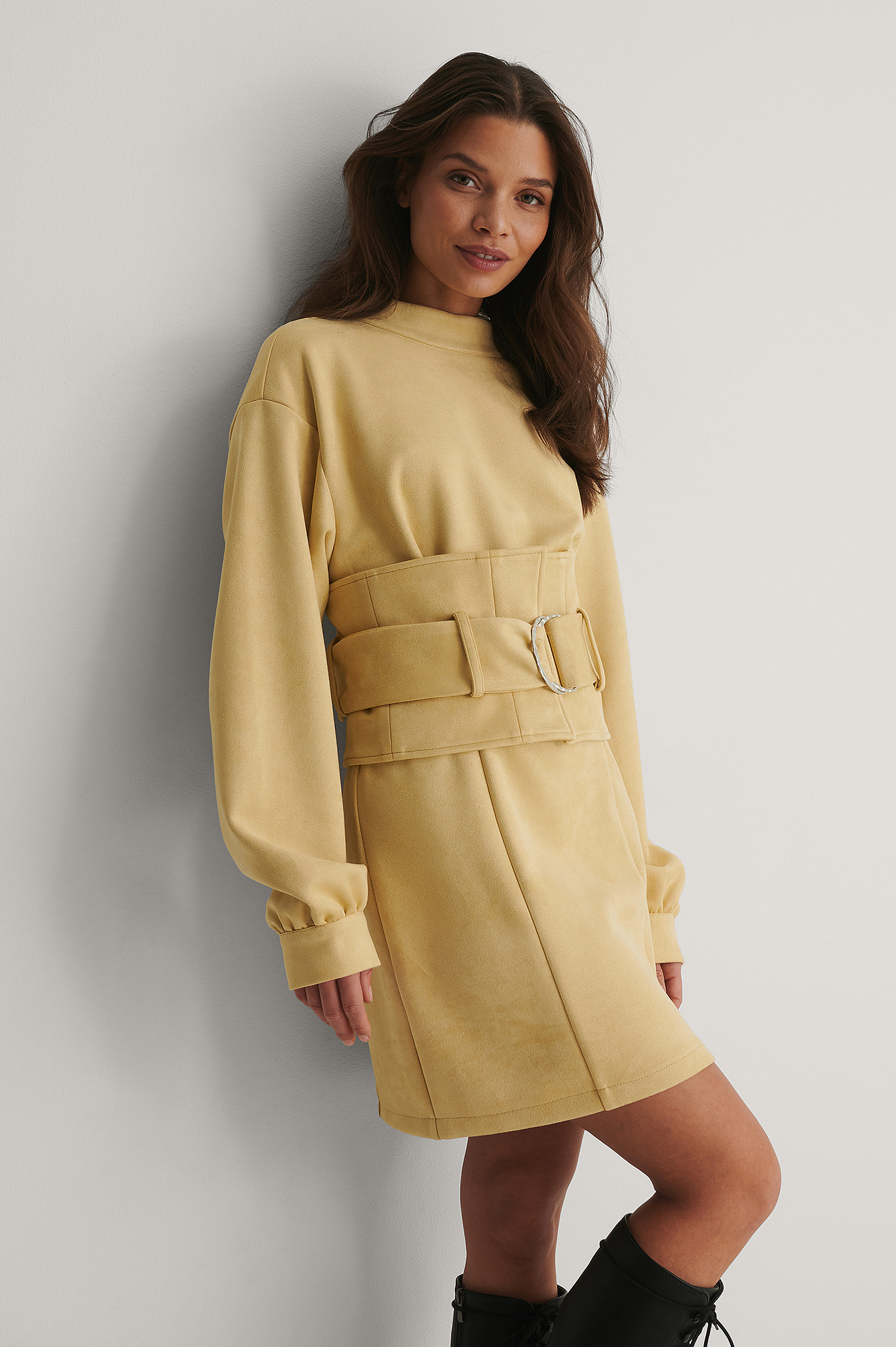 Beige Robe Mini