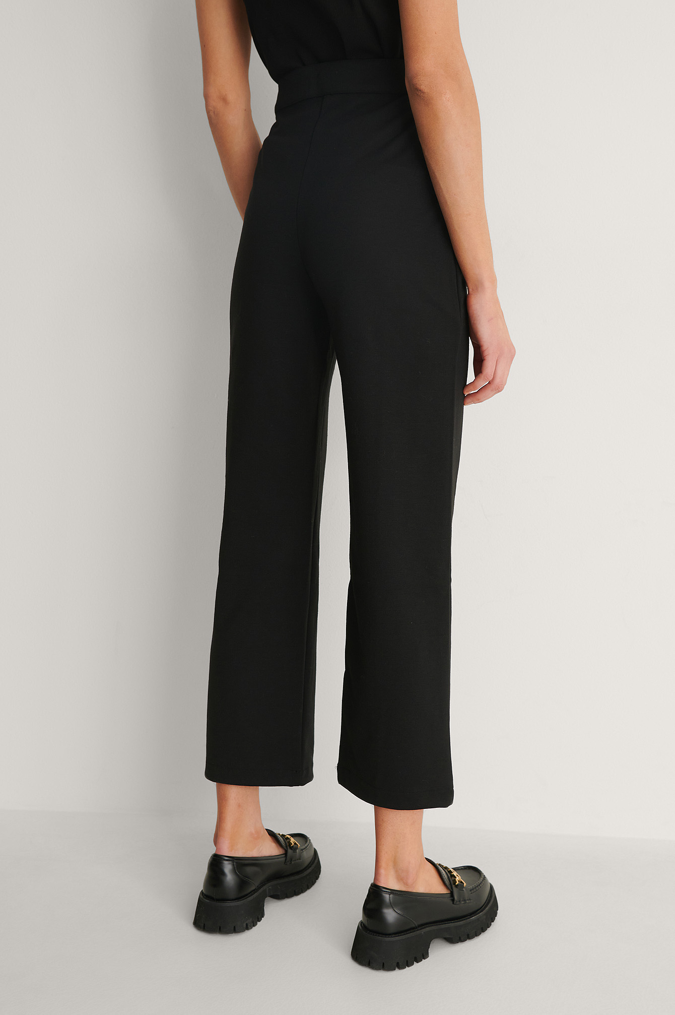 Black Pantalon Droit
