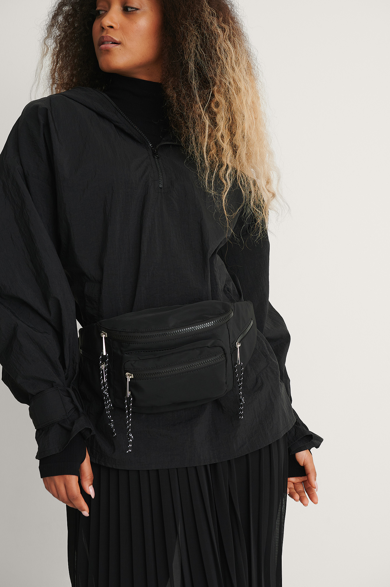 Black Hip Pack Bag