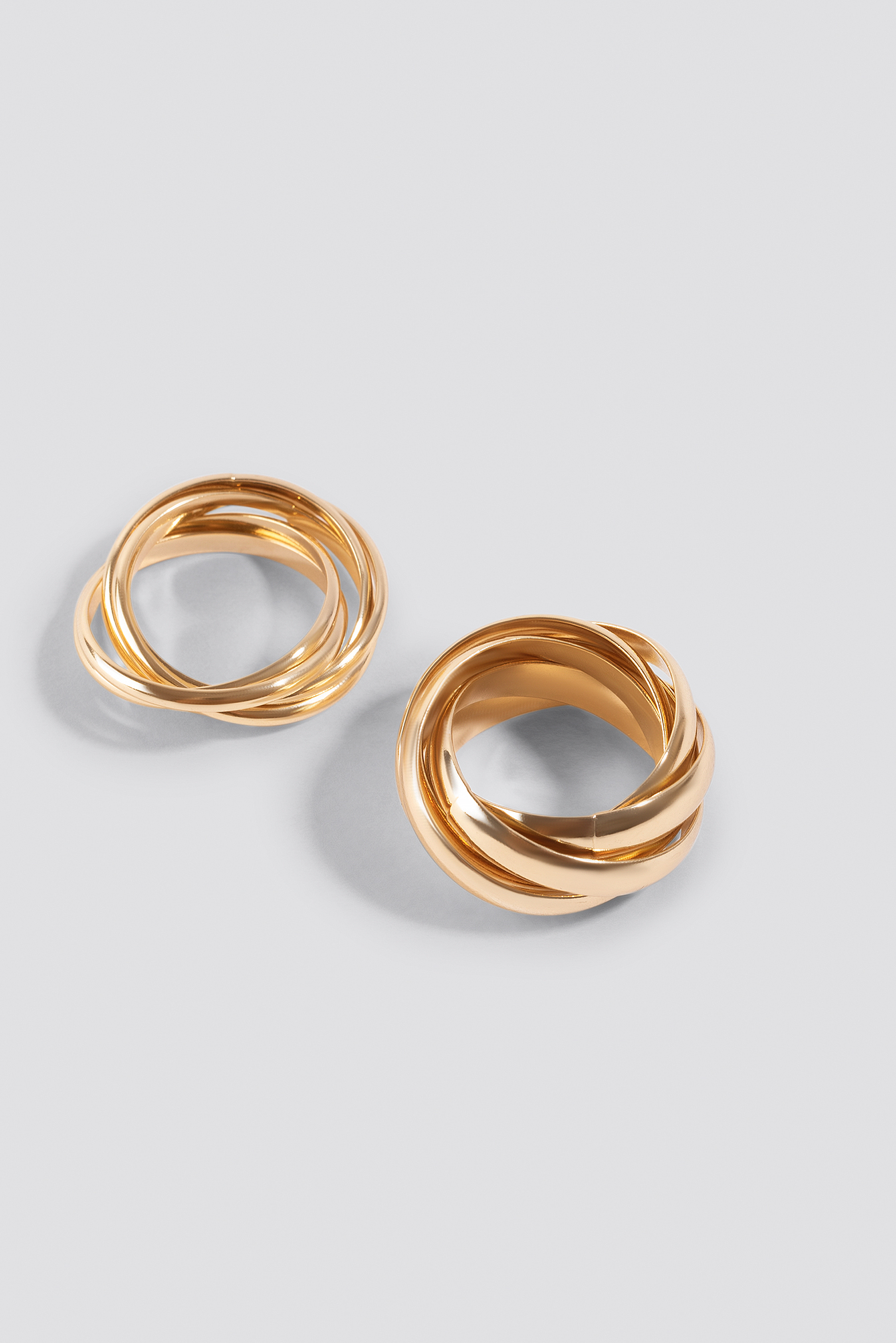Gold Layered Rings (2-Pack)