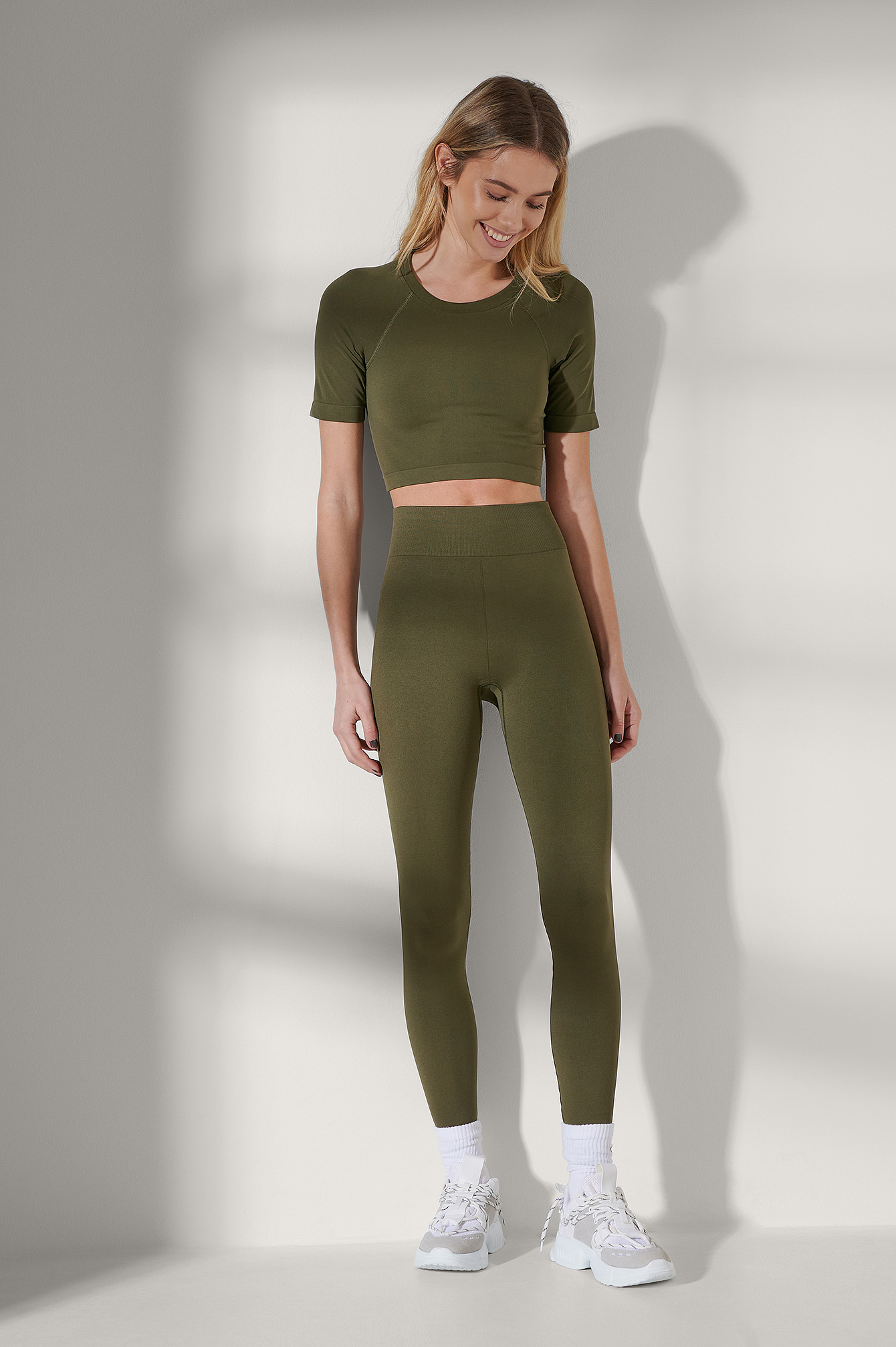 Dark Olive Sans Couture Legging