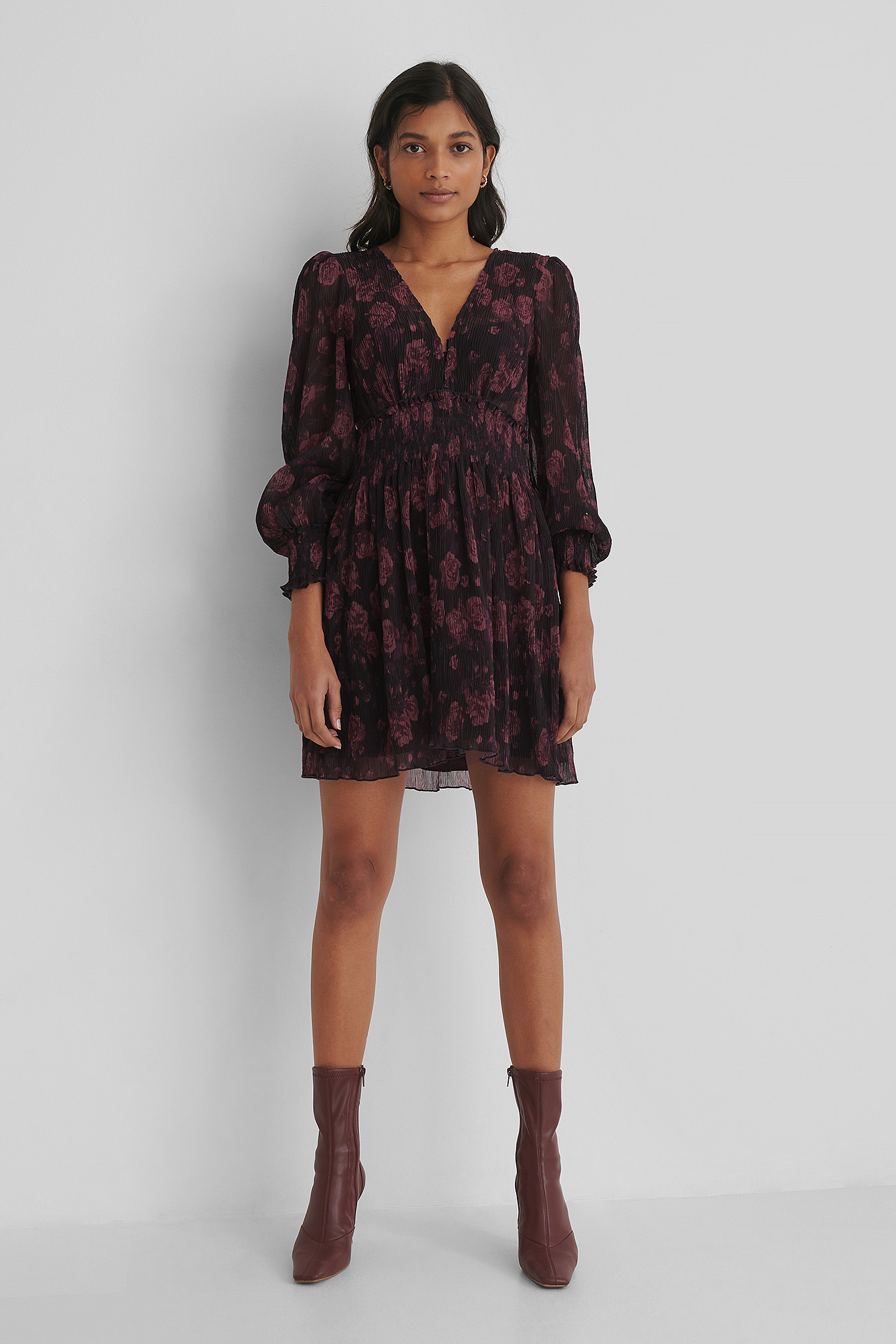 Burgundy Robe Mini
