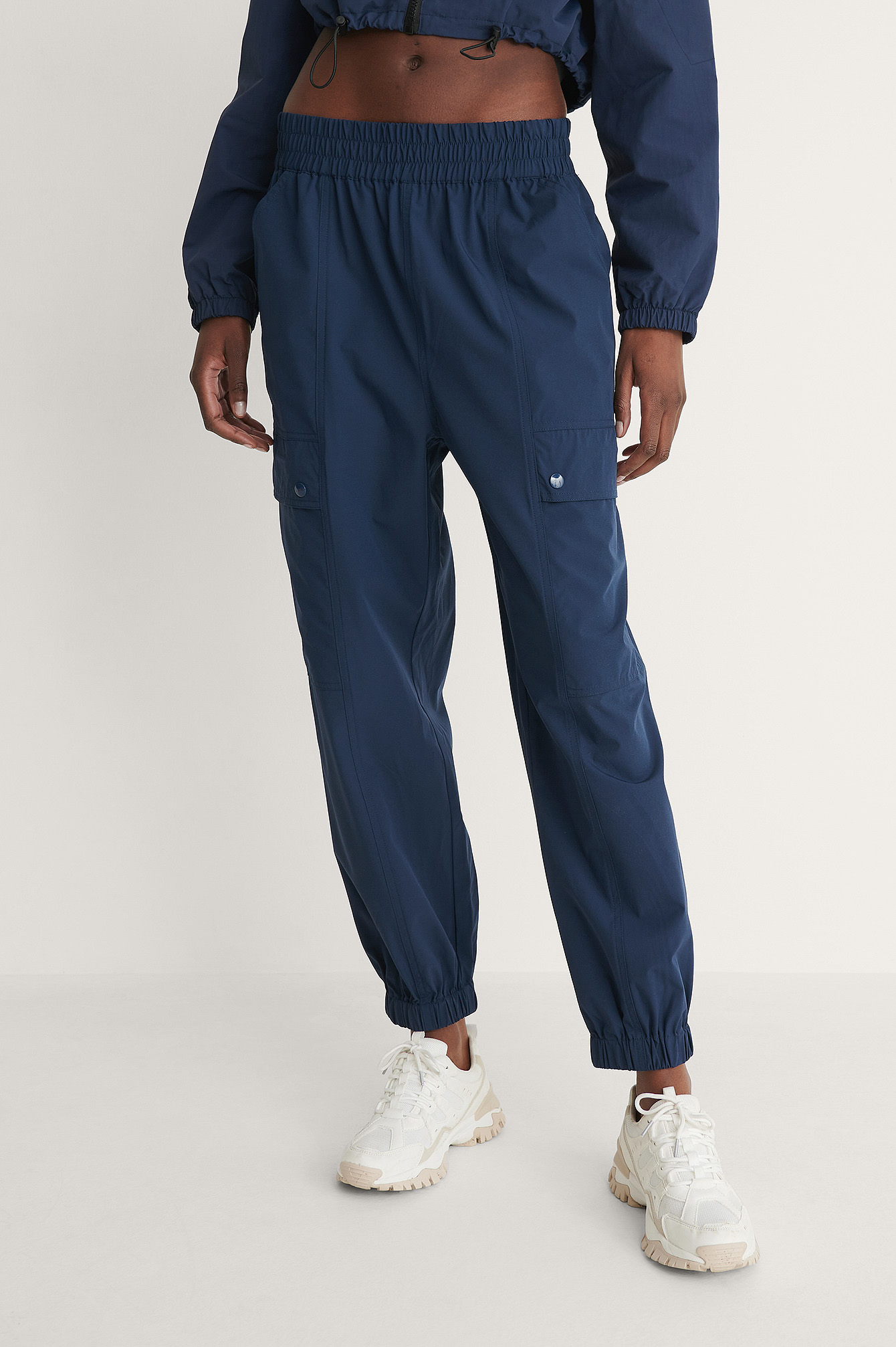 Navy Pantalon De Jogging