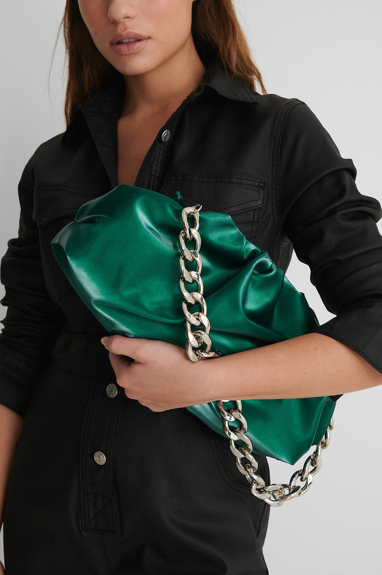 Emerald Green Sac Bourse