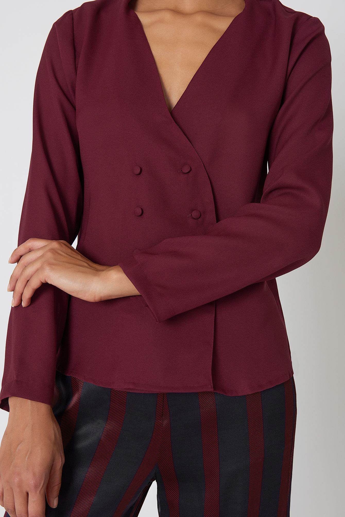 Plum Linn Blouse Jacket