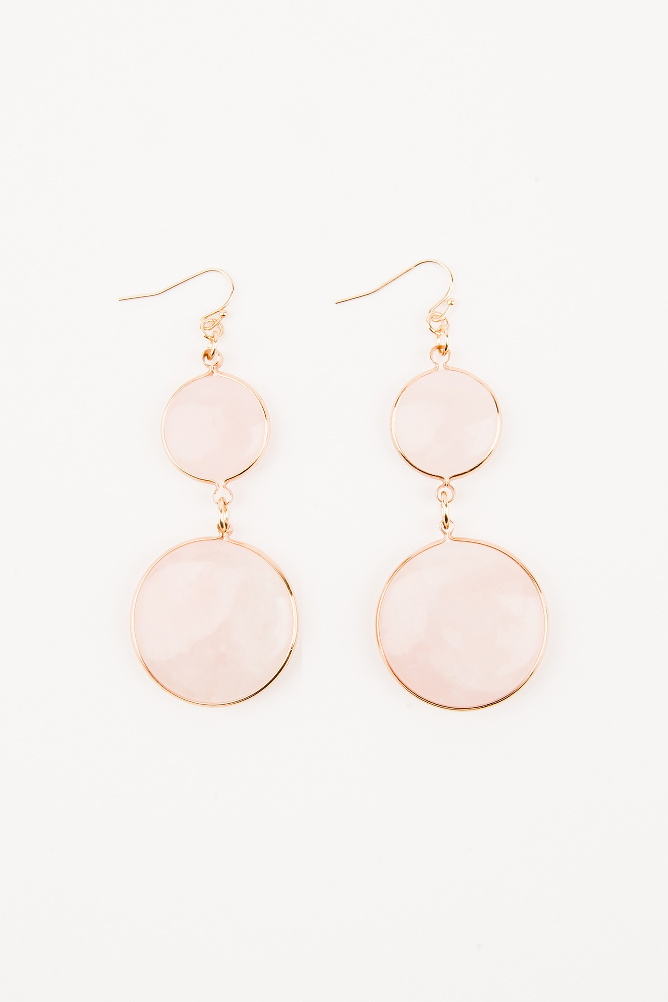 Pink Guava Pink Gold Earrings