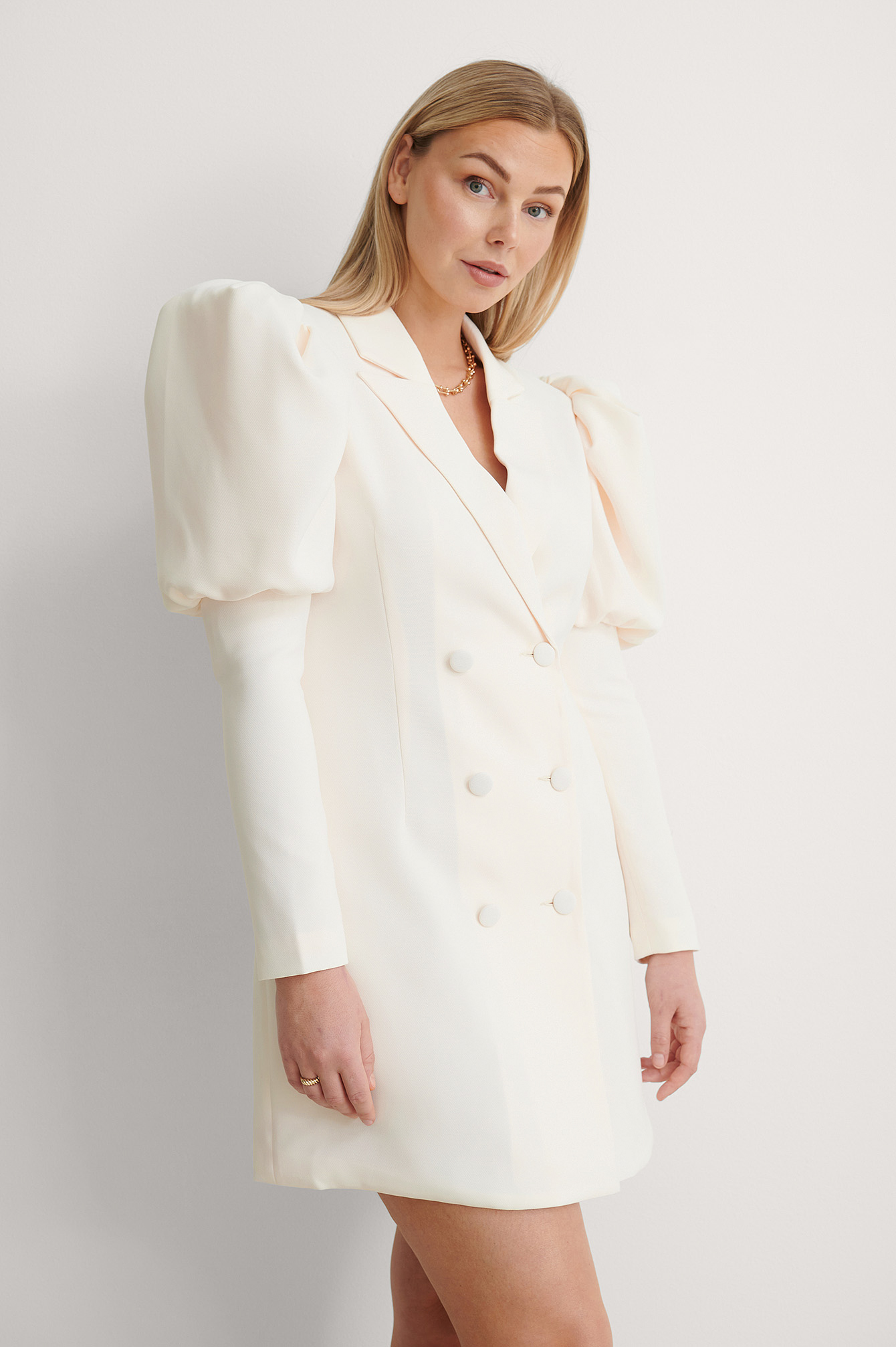 Light Beige Robe Blazer