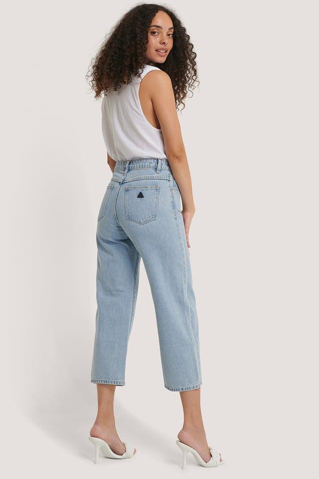 Walk Away A Street Aline Crop Jeans