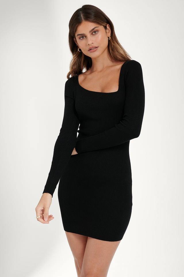 Robe Asymétrique Black