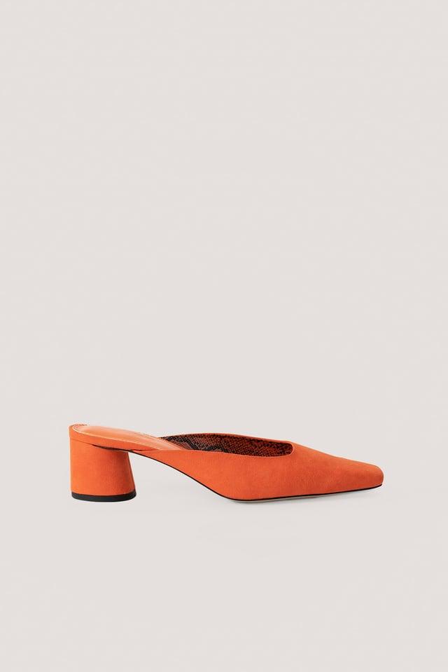 Orange Mules