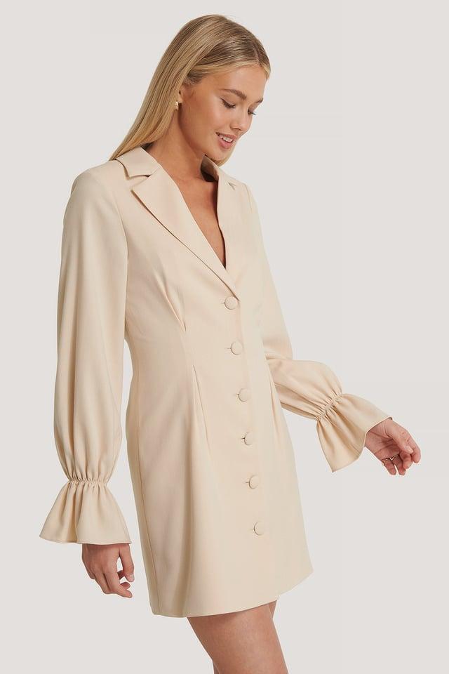 Pink Sand Robe Blazer