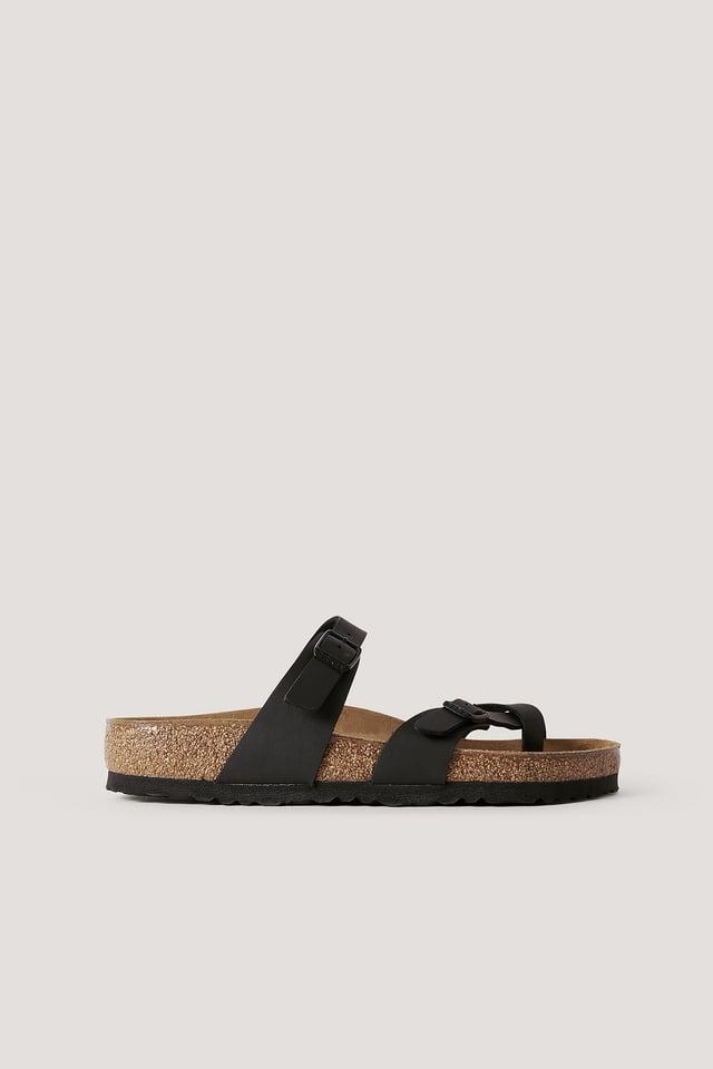 Sandale À Enfiler Black