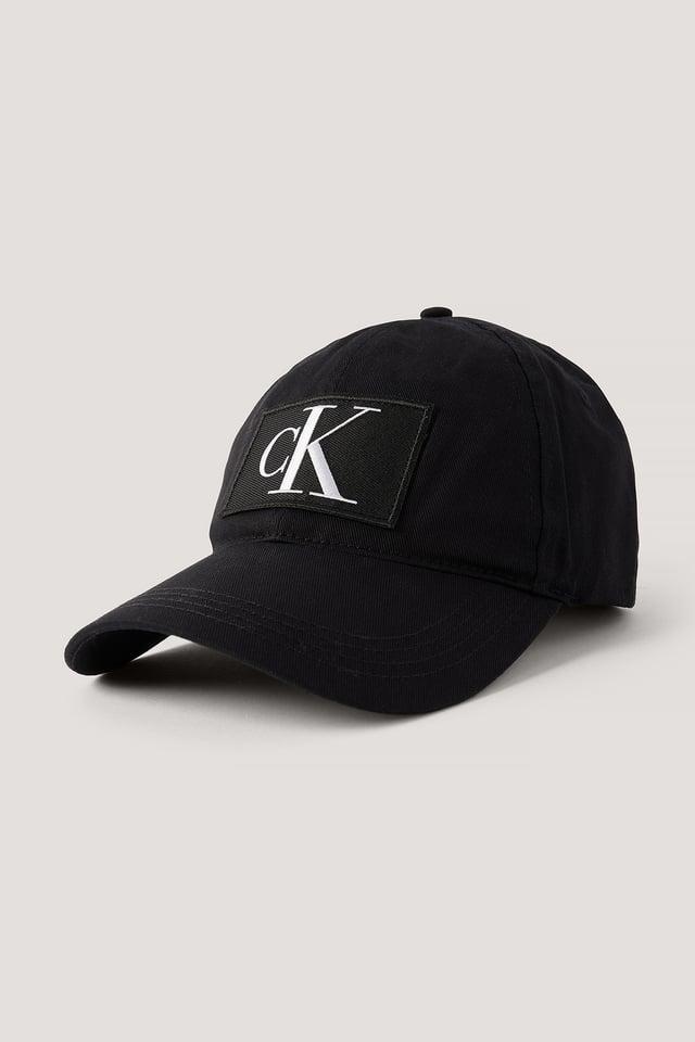 Casquette De Baseball À Logo Black