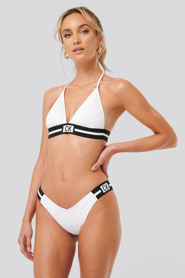 Bas De Bikini PVH White