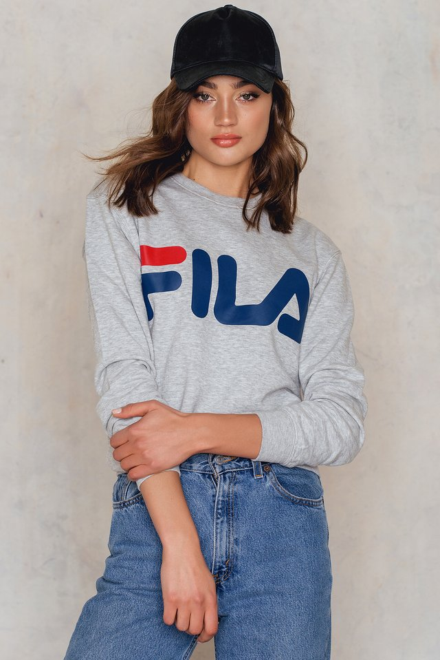 Classic Logo Sweatshirt Light Grey Melange