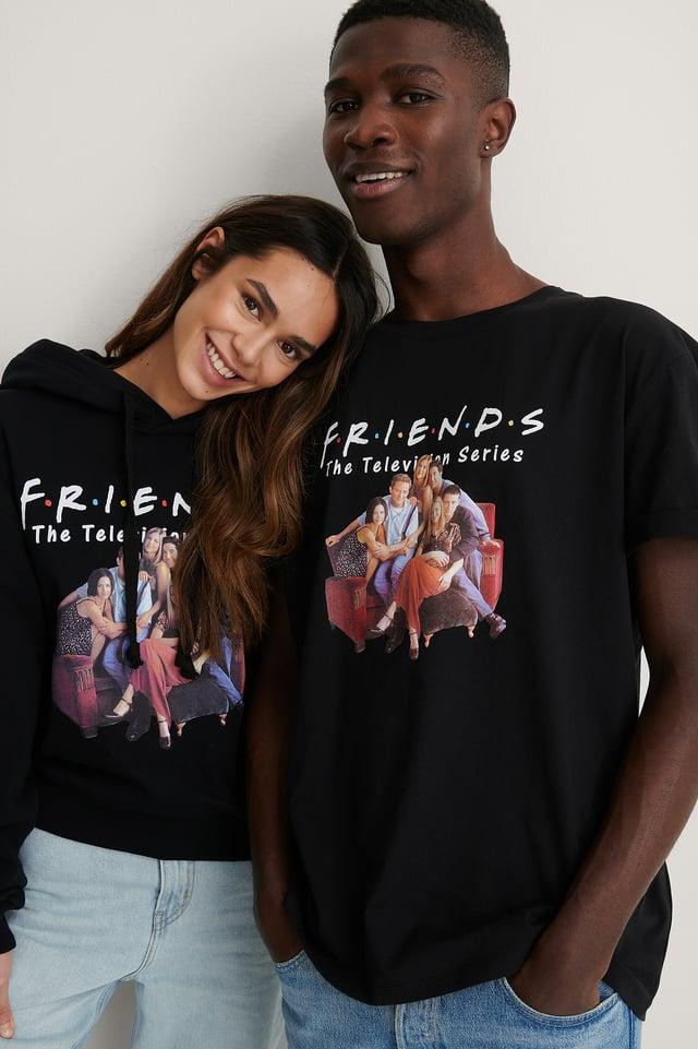 Black All Season Biologique Tee-shirt À Motifs