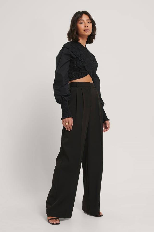 Pantalon Gabardine Black
