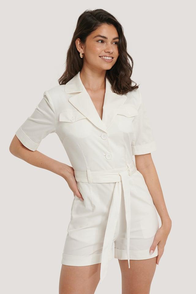 Offwhite Combinaison-Pantalon Matelassée