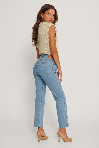 Tango Beats 501 Crop Jeans