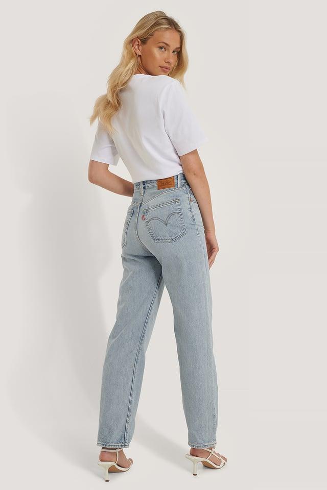 Pantalon Droit Taille Haute Longueur Cheville Middle Road