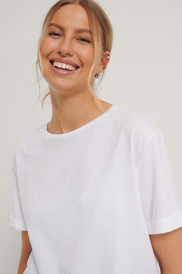 Biologique Tee-shirt White