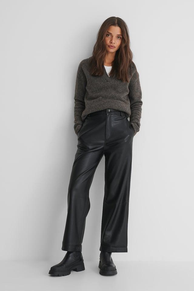 Camilla Trousers Black