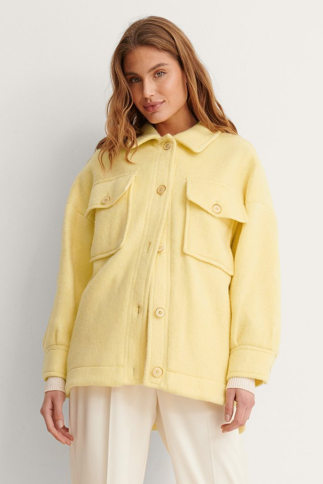 Pastel Yellow Veste