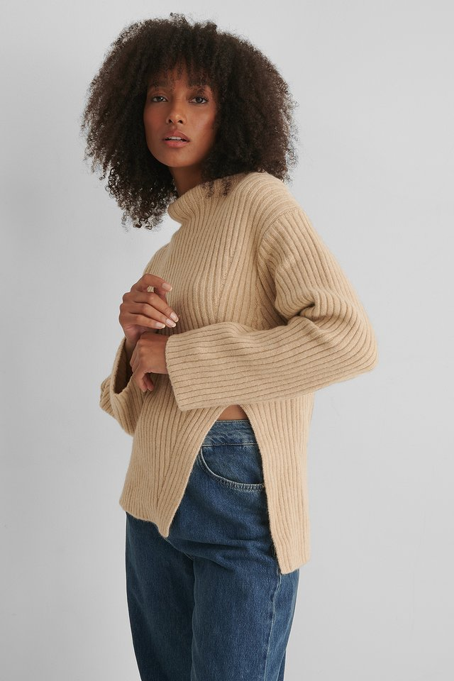 Pull Maille Grey Stone