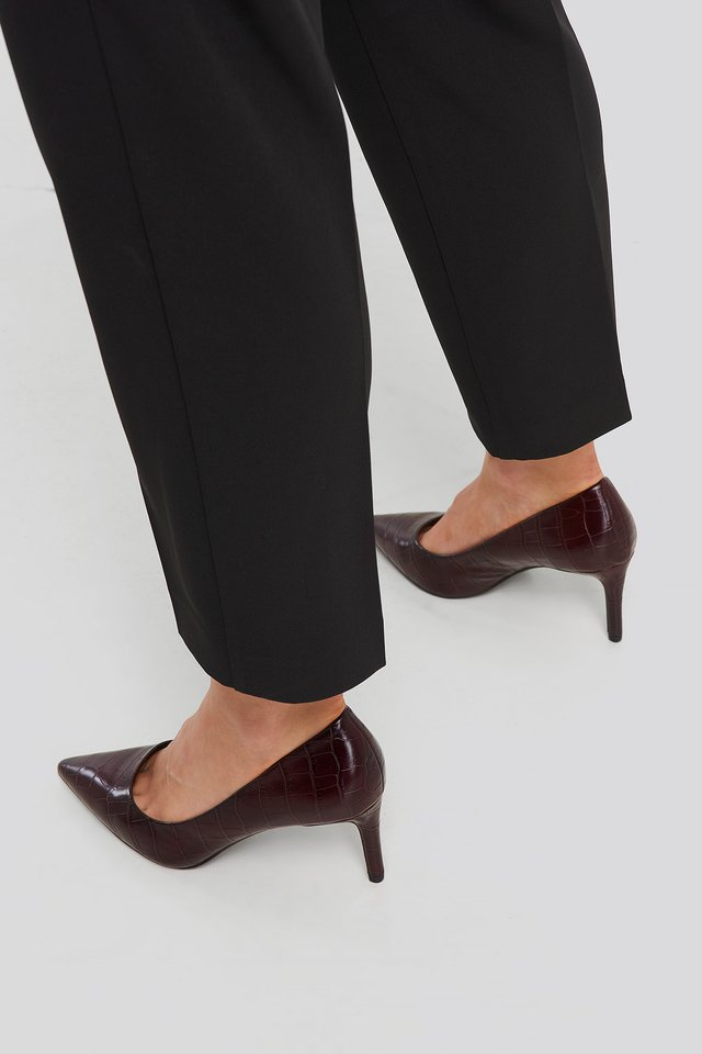 Wine Red Luna Shoes