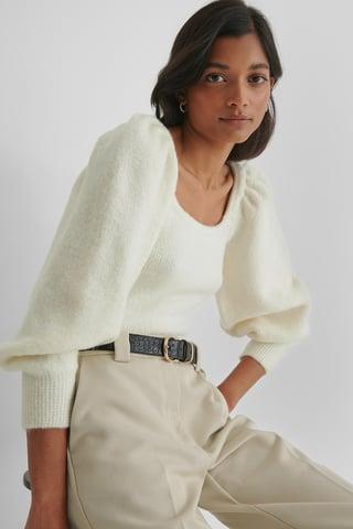 Light Beige Miau Sweater