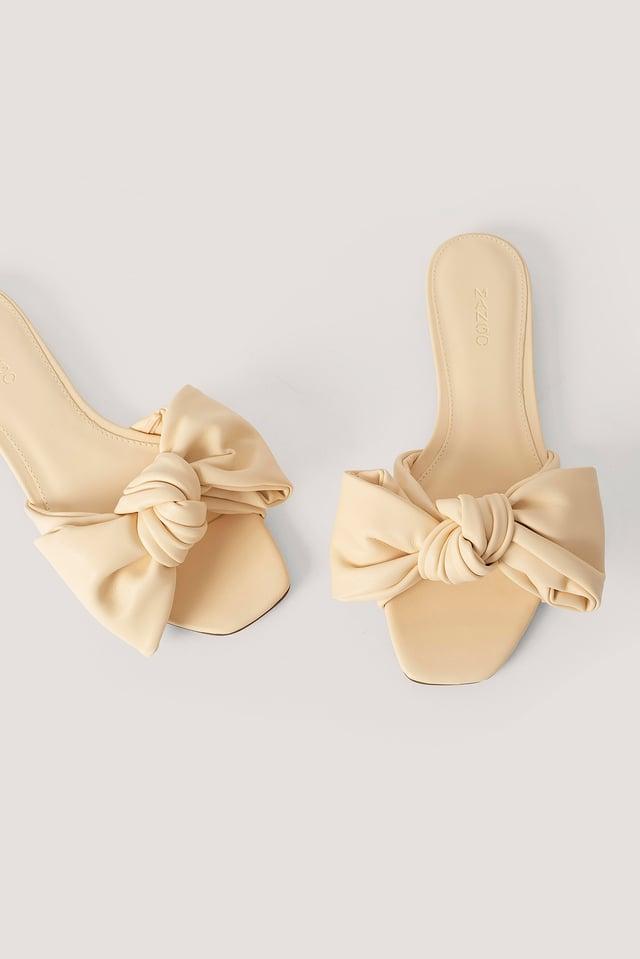 Sandale À Enfiler Vanilla
