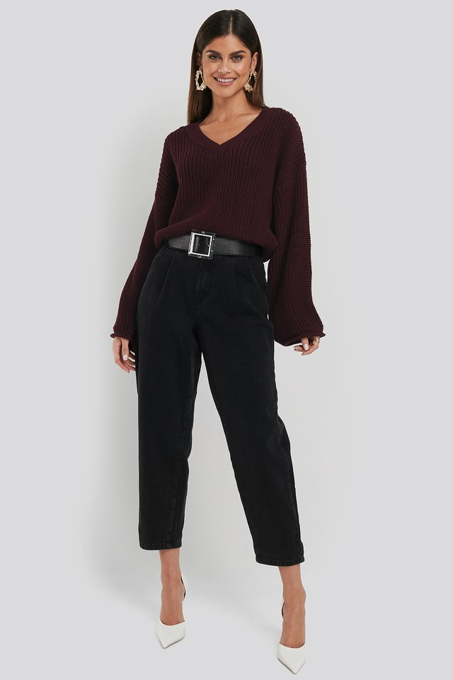 Regina Jeans Open Grey