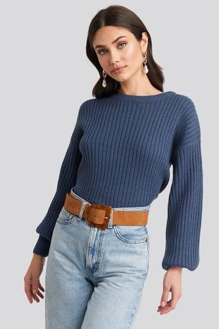Medium Brown Vigo Belt