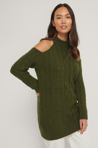 Green Robe Tricot