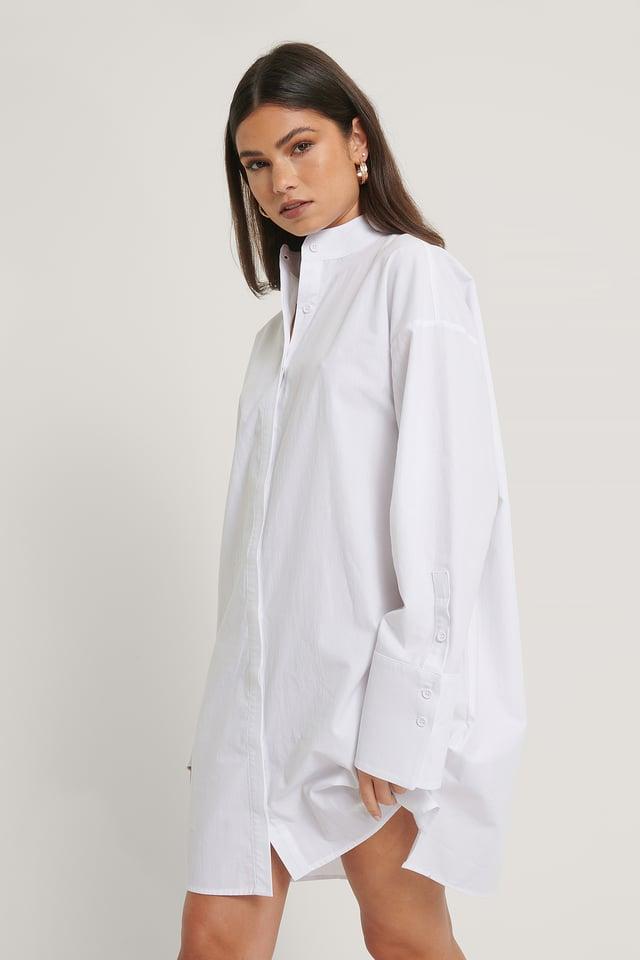 Robe Carrée White