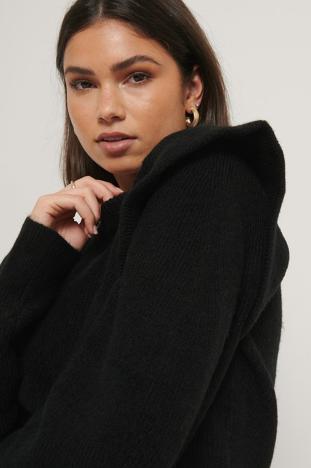 Pull Maille Black