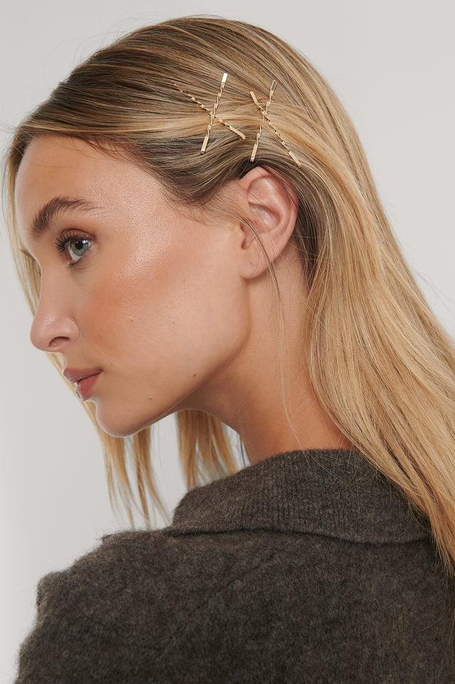 Épingles À Cheveux Gold