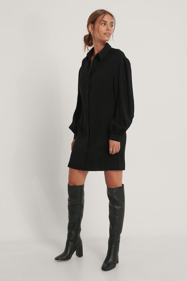 Robe Chemise Black