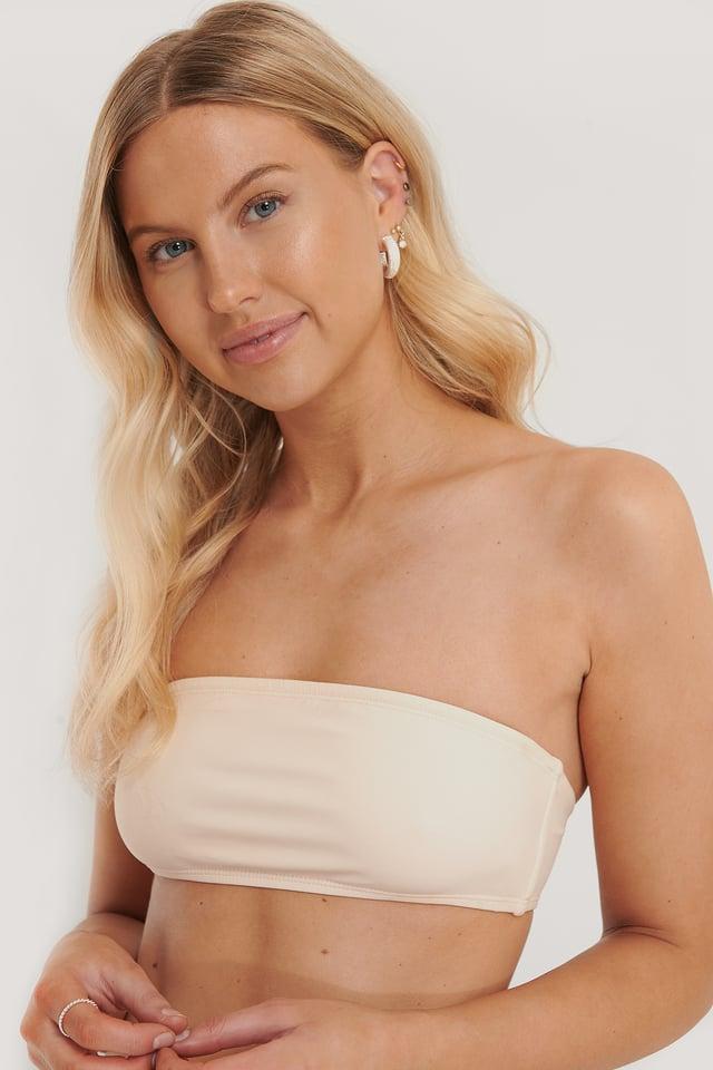 Pearl Haut De Bikini Bandeau