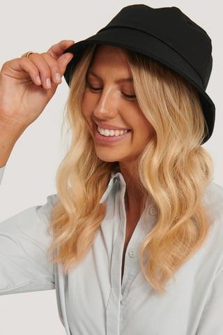 Black Basic Bucket Hat