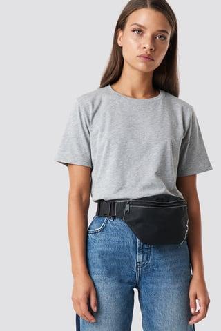 Grey Mel Tee-Shirt Basique
