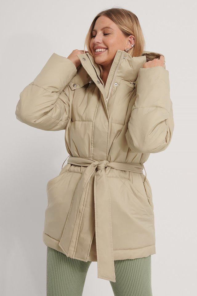 Veste Rembourrée Light Beige